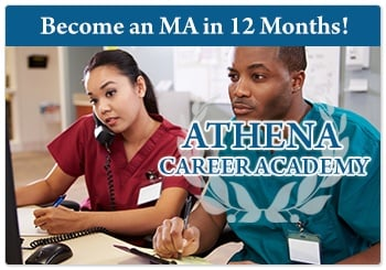 Medical Assistant in Toledo Ohio with Athena Career Academy