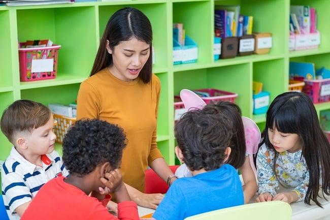 Preschool Classroom Best Student Teacher