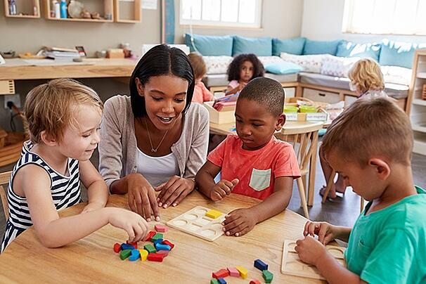Teach Preschool Or Elementary With An Early Childhood Education Degree