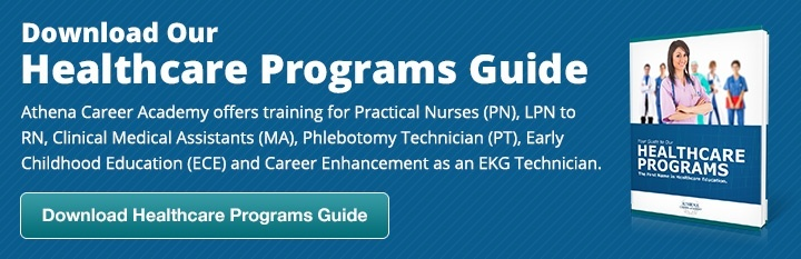 Athena Career Healthcare Program Guide